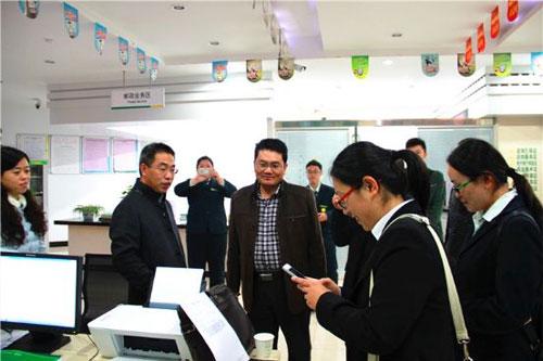 宁夏回族自治区卫计委领导一行参观访问