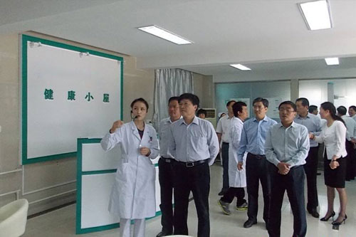 安徽第一人民医院领导莅临参观