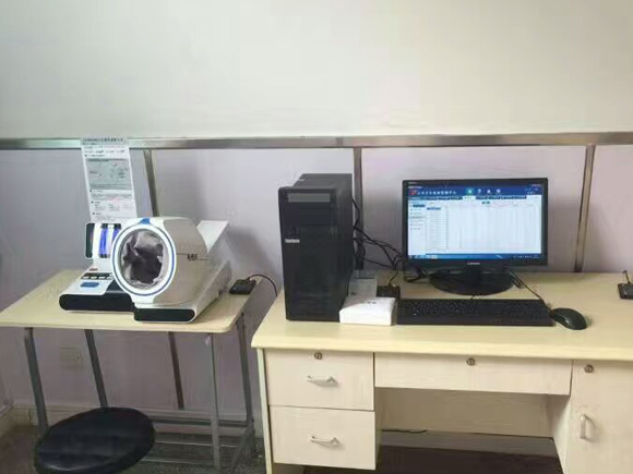 济宁市第一人民医院柳行分院―健康小屋安装调试