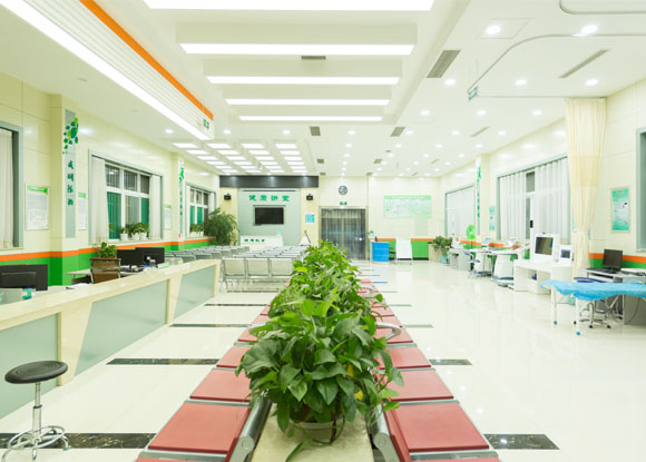 安居医院智能公共卫生服务大厅―健康小